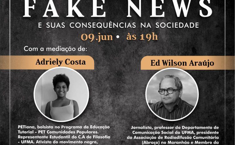 PET Comunidades Populares debate fake news e as consequências da desinformação