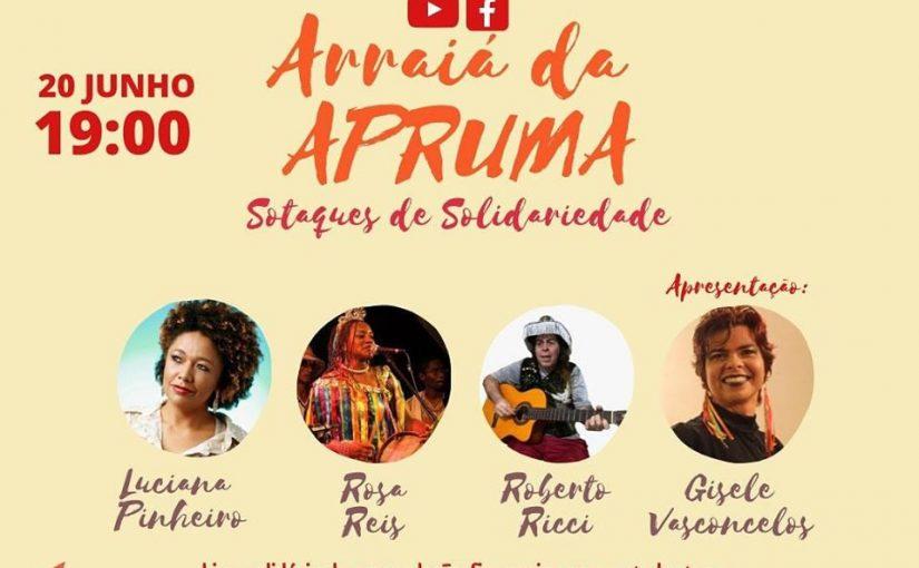 Apruma realiza live solidária com artistas maranhenses