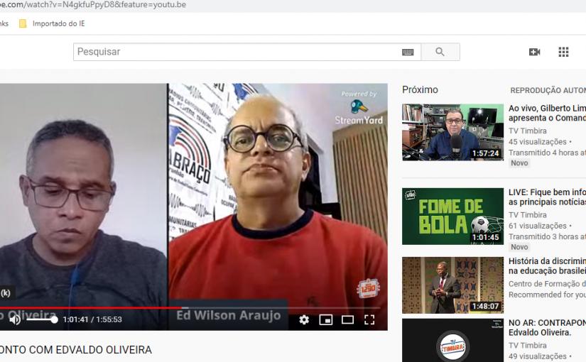 Entrevista na rádio Timbira AM sobre cenários da comunicação