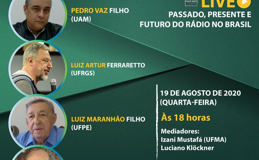 Live celebra pioneirismo da Rádio Club de Pernambuco no Brasil