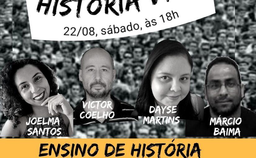 """""""História Viva"""": parceria da rádio Tambor e Anpuh-MA estreia novo programa hoje"""