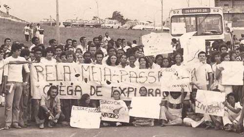 Há 40 anos São Luís era a cidade rebelde da meia passagem