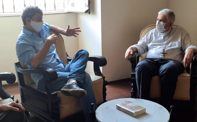Emilio Azevedo e Dom Belisário conversam sobre o combate à compra de votos