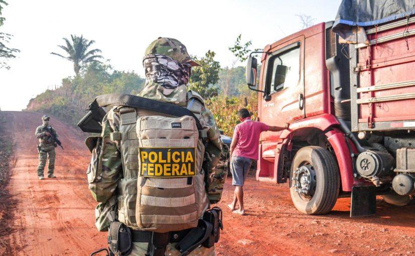 Operação da PF, Ibama e Exército interdita três serrarias próximas de áreas indígenas no Maranhão