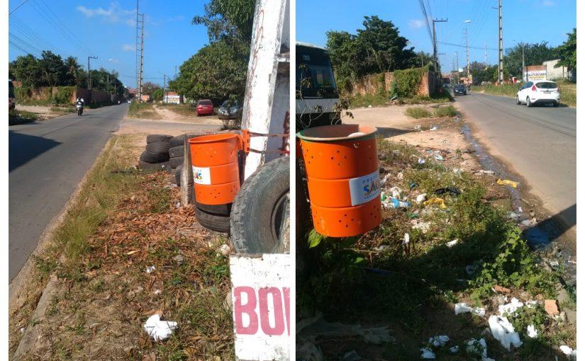 Milagre! Caiu uma chuva de dinheiro e brotaram lixeiras em São Luís