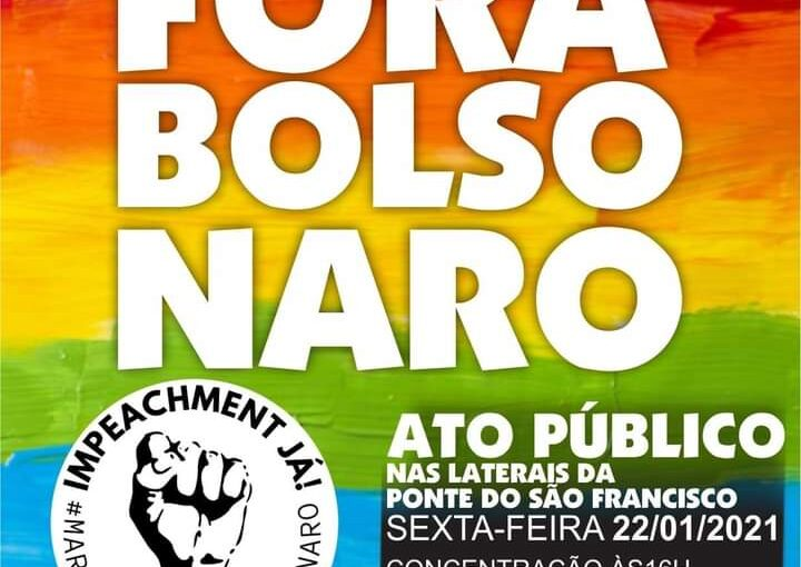 Impeachment já: hoje tem ato #forabolsonaro em São Luís