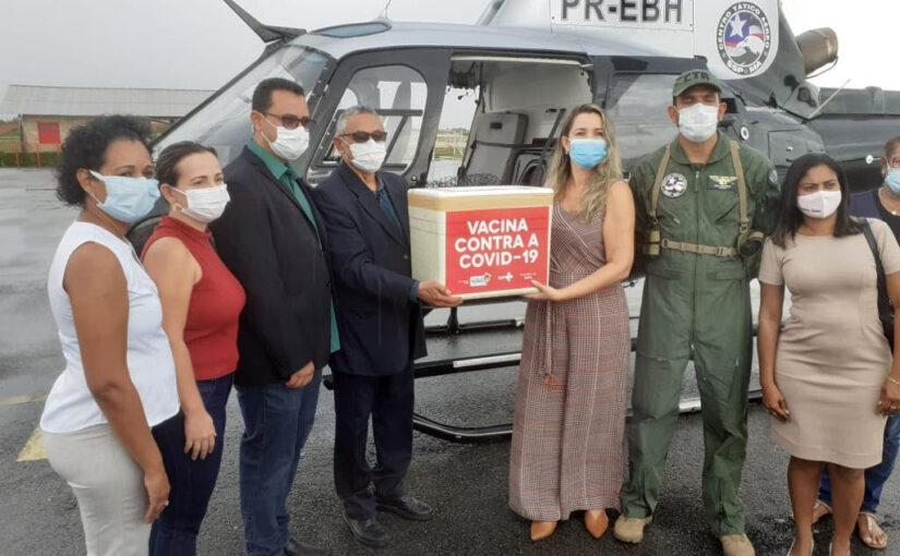 Governo distribui vacina para imunizar mais de 78 mil pessoas contra a covid-19 no Maranhão