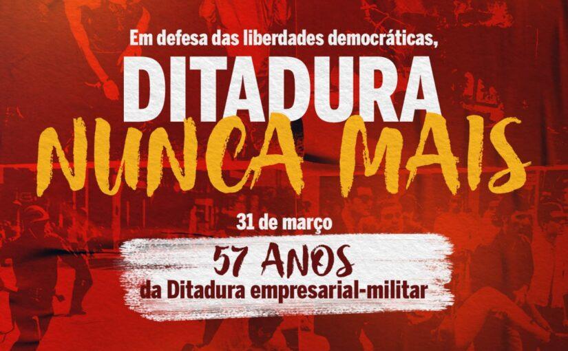 Andes: ditadura nunca mais, pela memória, verdade e justiça!