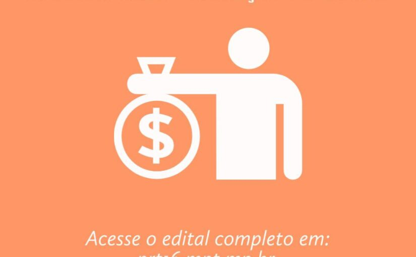 MPT cadastra entidades para receber bens e recursos oriundos da atuação da Procuradoria do Trabalho