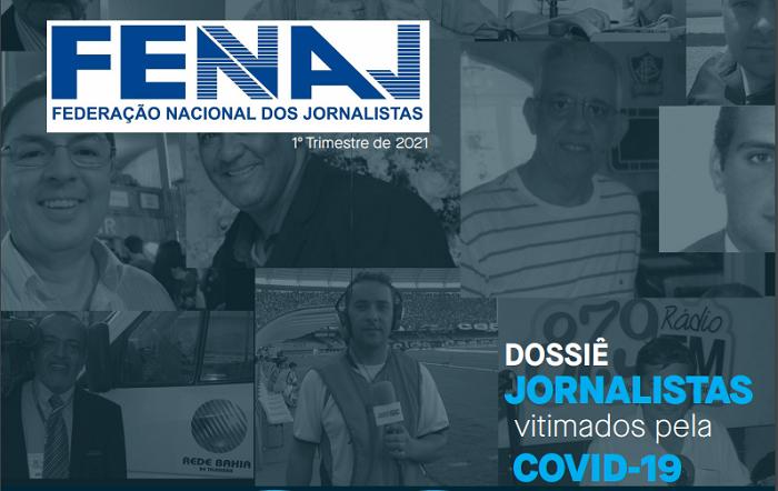 Brasil é o país com maior número de jornalistas mortos por Covid-19