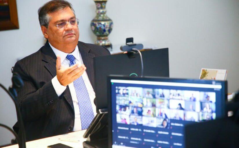 Em reunião com a ONU, Flávio Dino pede quebra de patentes para ampliar produção da vacina contra a Covid-19