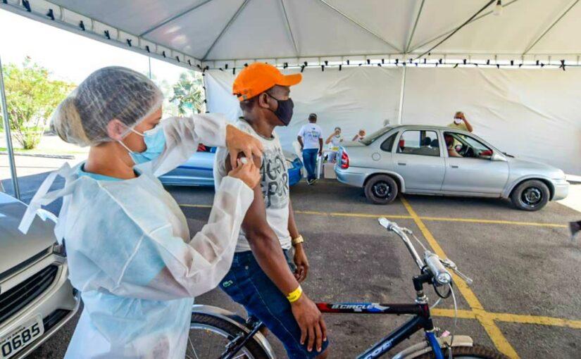 No Maranhão, Arraial da Vacinação encerra com 5 mil doses aplicadas