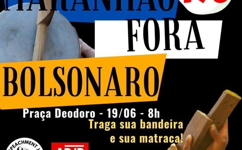 """Atos """"Fora Bolsonaro e Mourão"""" voltam às ruas neste sábado em várias regiões do Brasil"""