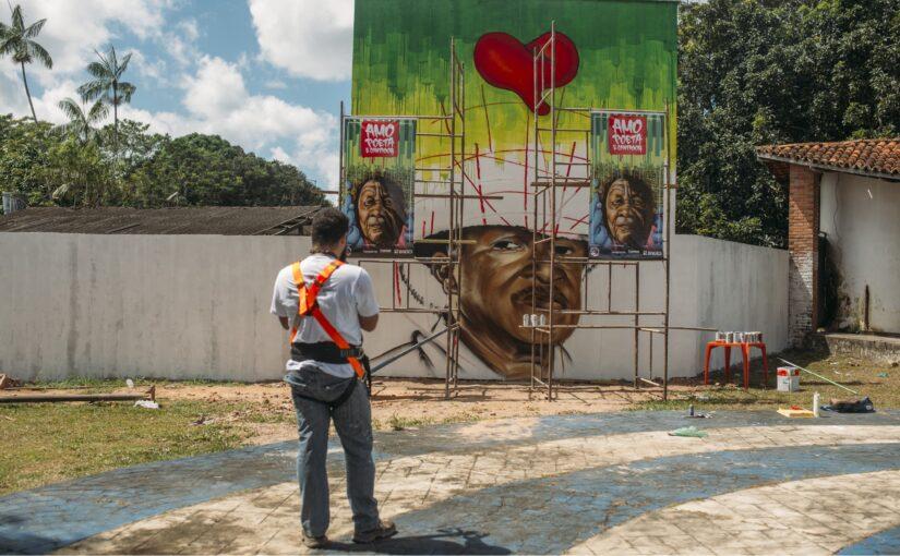 Mestre João Câncio, do Boi de Pindaré, ganha homenagem com mural em São Luís