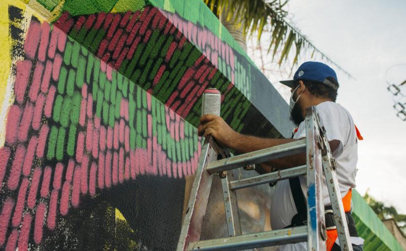 """Viana é palco do novo """"Mural da Memória"""" em homenagem ao cantador Diomar Leite"""