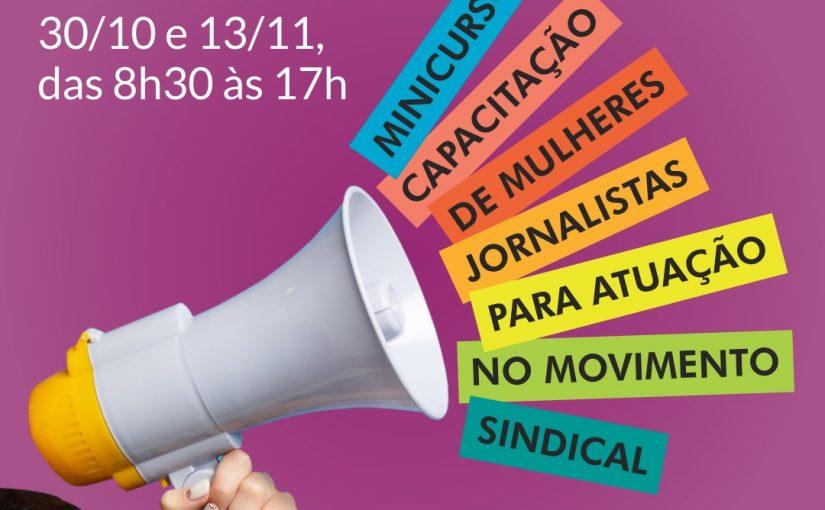 Fenaj capacita mulheres jornalistas para atuação no movimento sindical