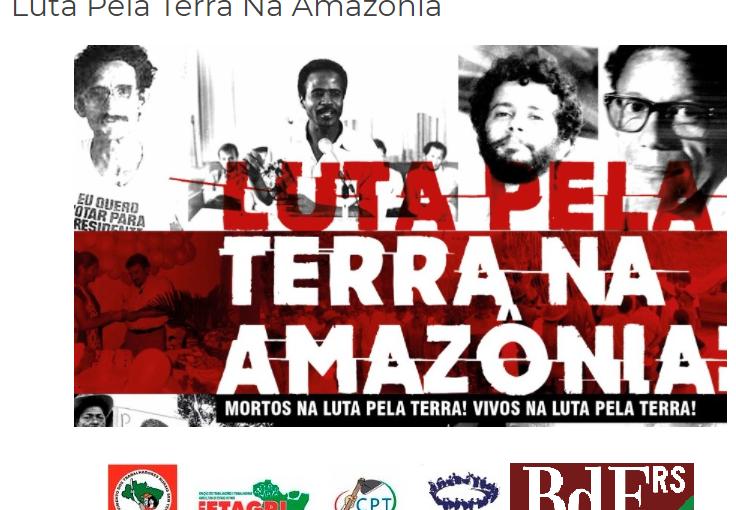 Luta pela terra na Amazônia: livro recupera saga dos defensores da Reforma Agrária